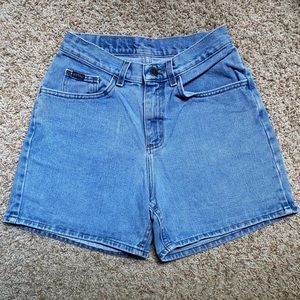 Vintage Riders   High Waisted Jean Shorts